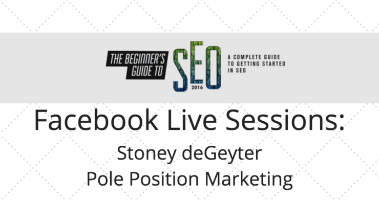 SEJ Live: Stoney deGeyter on Combining SEO and UX