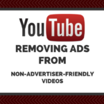 youtube removing ads