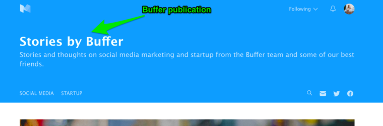buffer publication