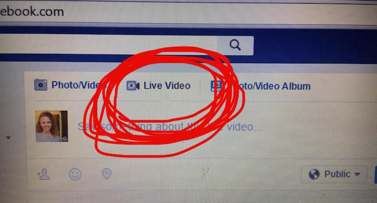 New Test: Facebook Live From Desktop