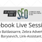 Facebook Live Sessions- aleh barysevich and christina baldassarre