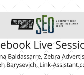 SEJ Live: Aleh Barysevich & Christina Baldassarre on SEO, Social Media