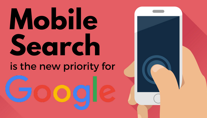 google is splitting its search index prioritizing mobile over