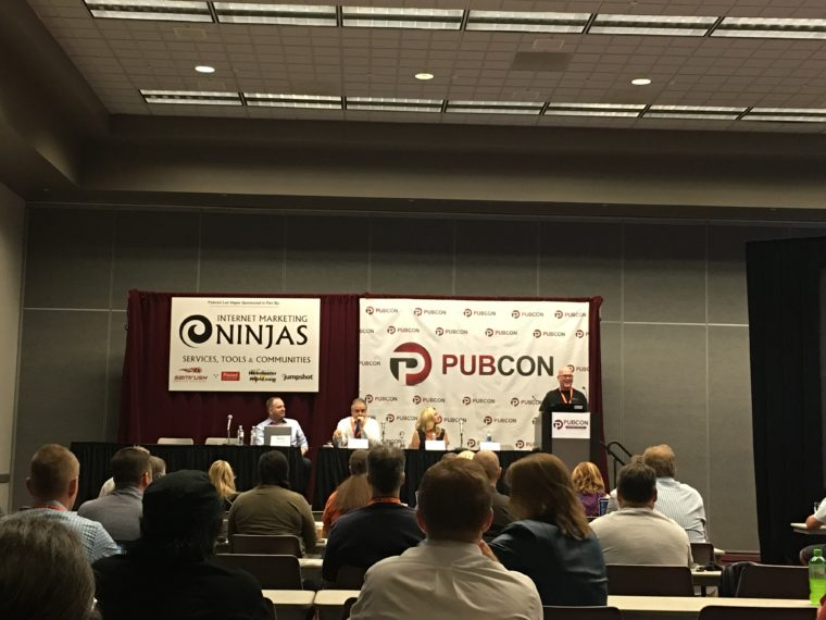 Pubcon day 1 tech issues