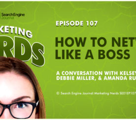 How to Network Like a Boss on #MarketingNerds
