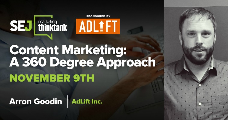 A 360 Degree Approach to Content Marketing [WEBINAR]