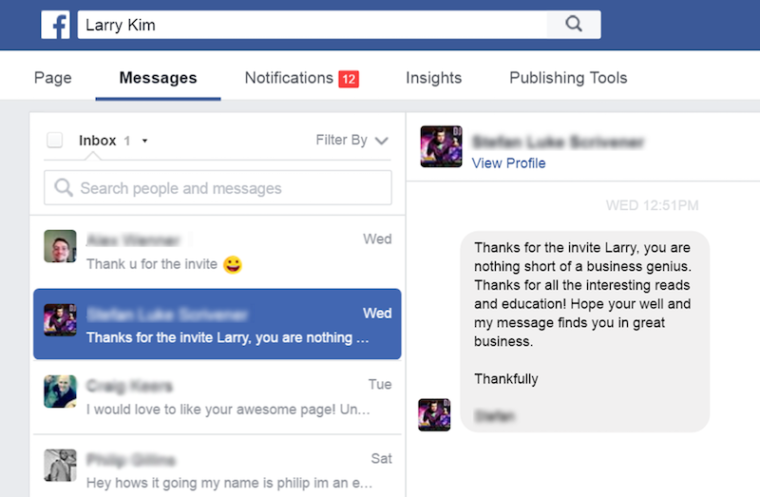 how to use facebook account as a page