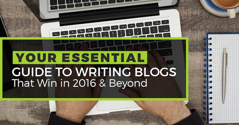 An Essential Guide to Writing Blogs That Win by @JuliaEMcCoy