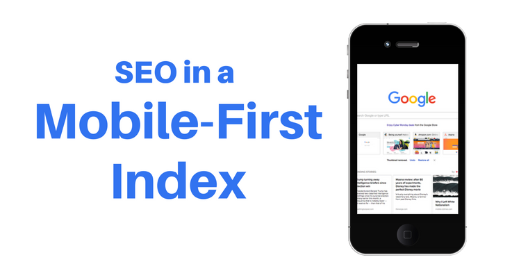 SEO in a mobile-first index