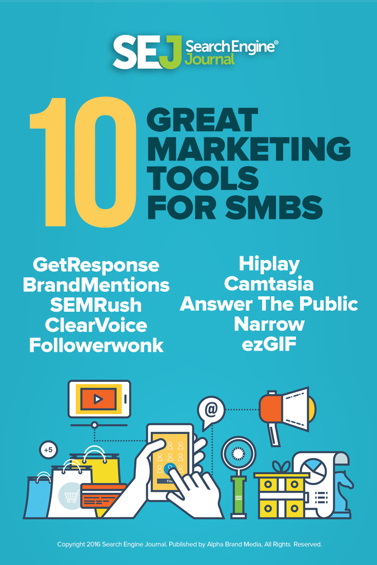 10 Great Marketing Tools for SMBs