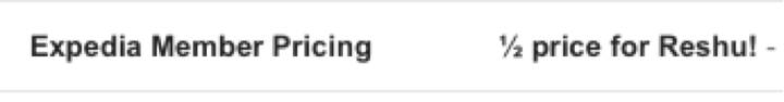 Short and personalized subject line
