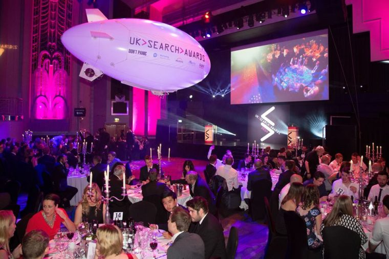 Shortlist Announced for the 2016 UK Search Awards
