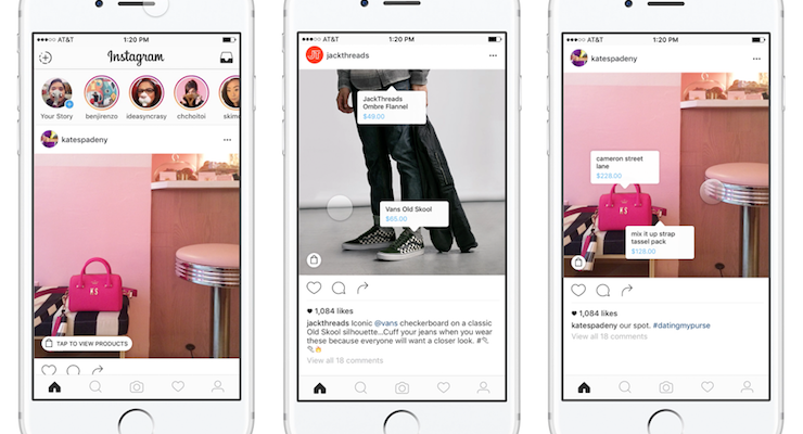 Instagram Makes it Easier for Users to Shop & Buy