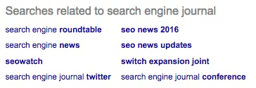 sej related searches