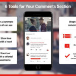 YouTube comments section tools