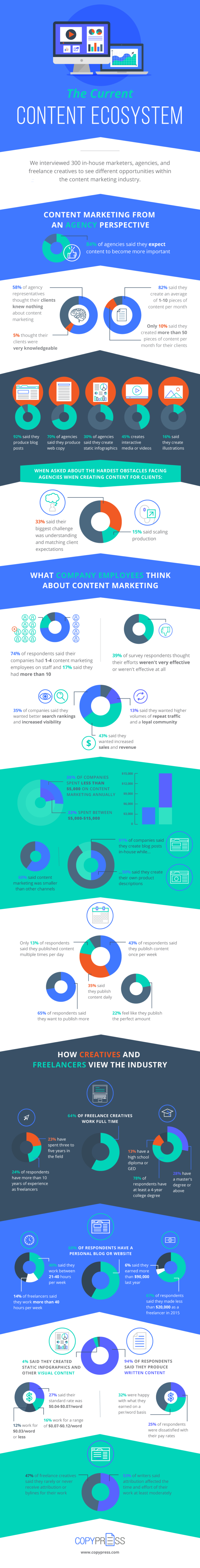 Infographic: The Current Content Ecosystem
