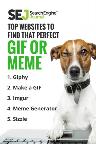 Pinterest Image - Top Websites to Find That Perfect GIF or Meme