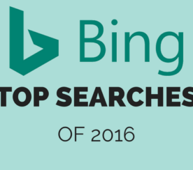 Bing's Top Searches of 2016