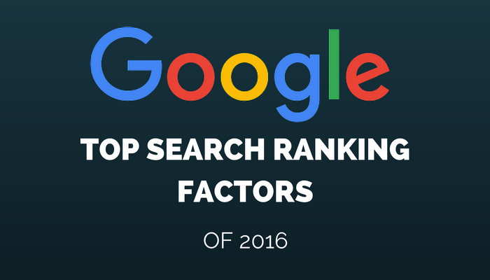 Google's Top Search Ranking Factors of 2016, According to Searchmetrics Study