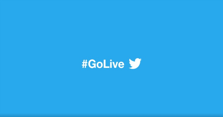 #GoLive Now: Twitter Launches Live Video