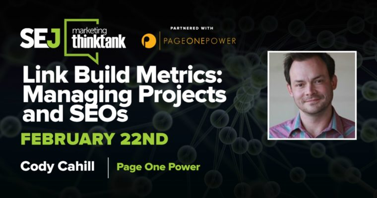 Link Building Metrics: Managing Projects and SEOs [Webinar Recap]
