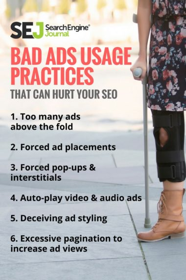 Pinterest Image: Bad Ads Usage Practices That Can Hurt Your SEO