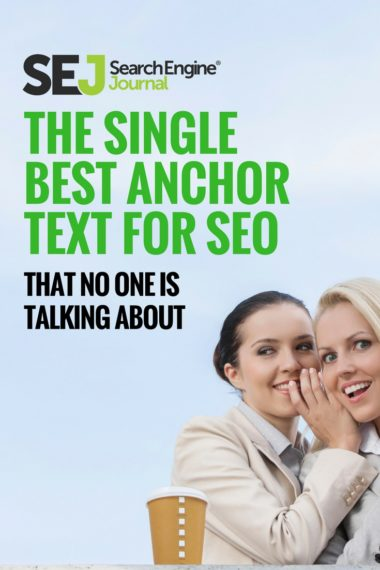 Pinterest Image: The Single Best Anchor Text for SEO That No One Is Talking About