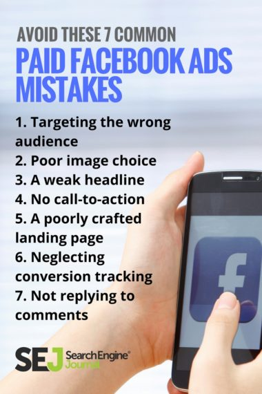 Pinterest Image: Avoid These 7 Common Paid Facebook Ads Mistakes