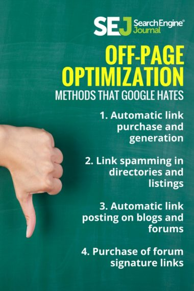Pinterest Image: Off-Page Optimization Methods That Google Hates