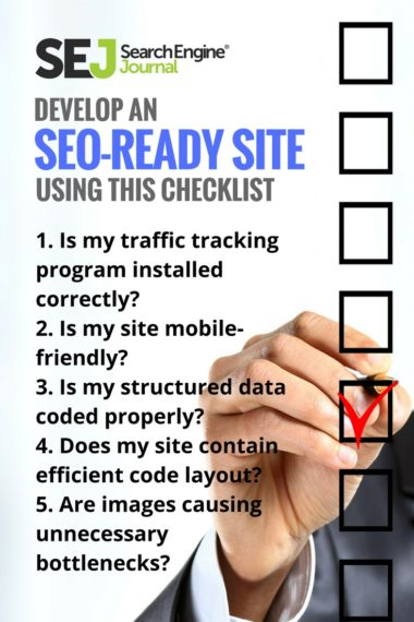 Pinterest Image: Develop an SEO-Ready Site Using This Checklist