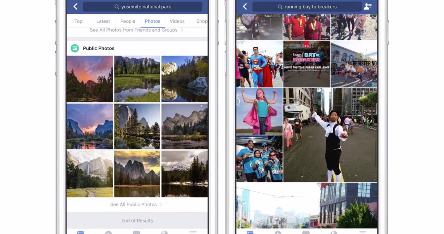 Facebook Search Now Recognizes Objects in Photos