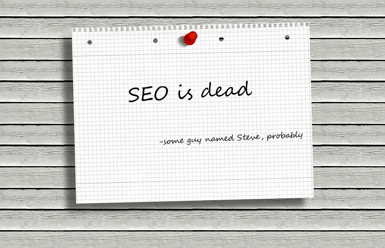 """SEO is dead"" - some guy named Steve, probably"