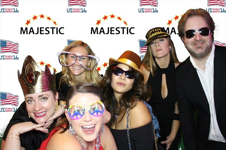 Frances Donegan-Ryan, Anna, Kelsey, Jenise, Jessica, and Danny at the US Search Awards 2016