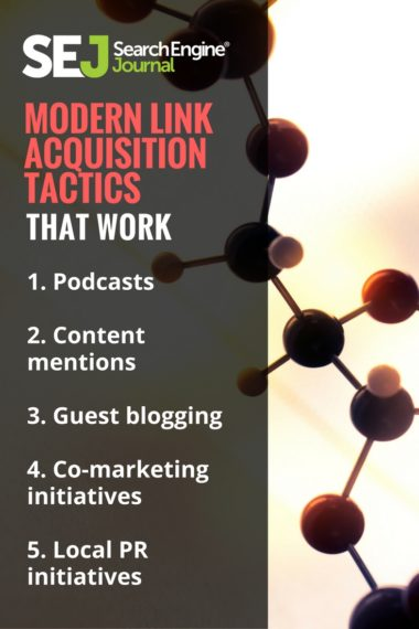 Pinterest Image: Modern Link Acquisition Tactics That Work