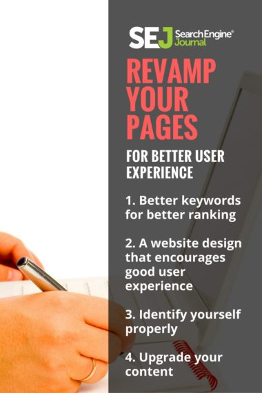 Pinterest Image: Revamp Your Pages for Better User Experience
