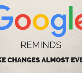 """Google's John Mueller Reminds: """"We Make Changes Almost Every Day"""""""