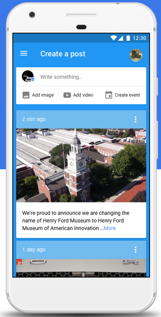 Google Opens Up Google Posts to Sports Teams, Museums, and More