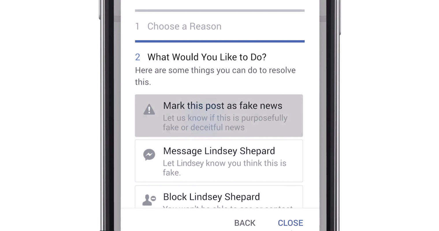 Facebook Adds Disputed Alert to Fight Fake News
