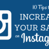 10 Tips to Increase Sales on Instagram