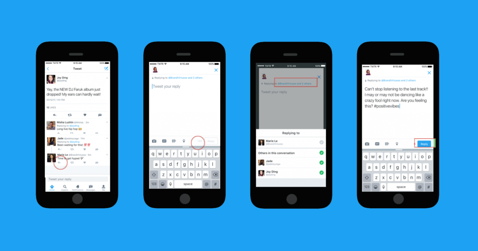Twitter Unveils a New Look for Replies