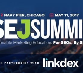 Linkdex Partners With SEJ Summit 2017 as New Silver Sponsor