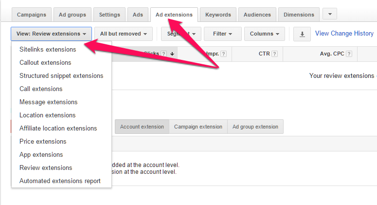adwords sem tips ad extensions