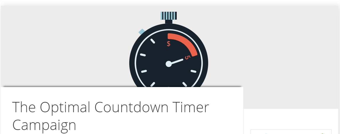 Optimal Countdown Timer