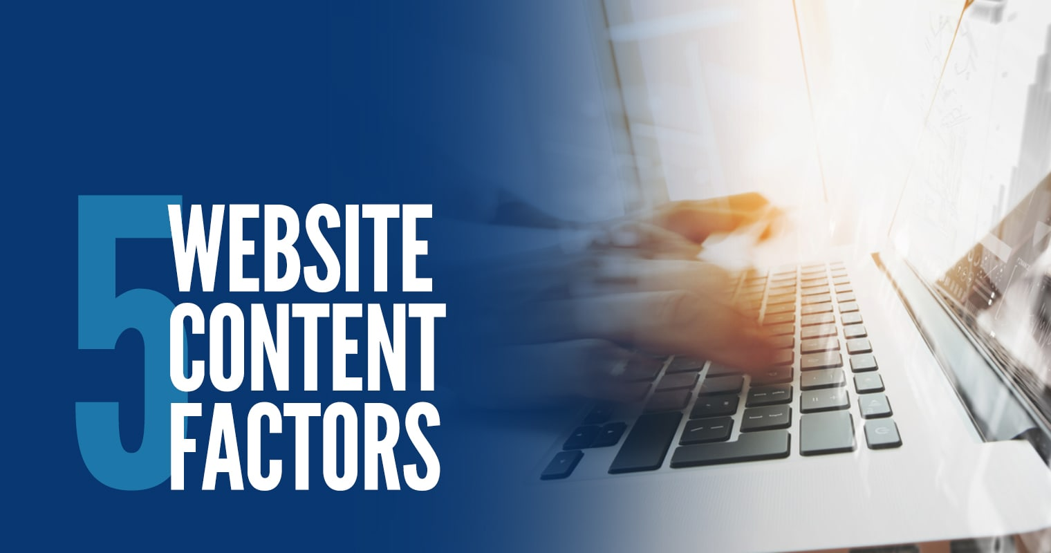 Website Content Factors