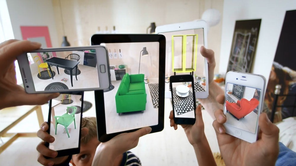 IKEA augmented reality product catalog