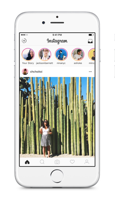 Instagram is a typical example of a native app