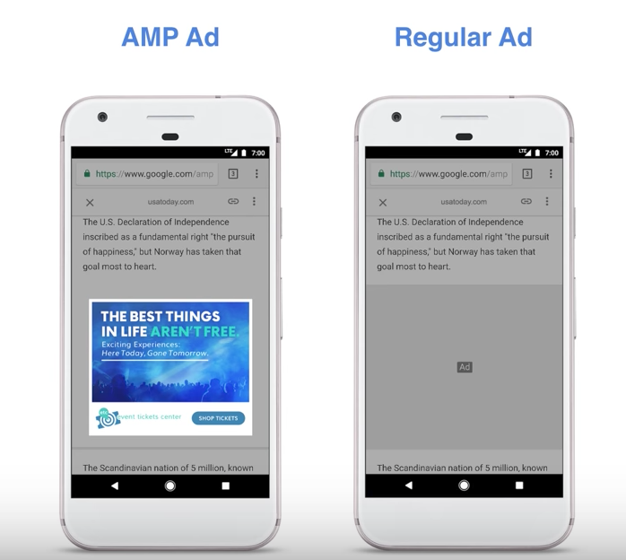 Google is Speeding Up Search Ads With AMP Technology