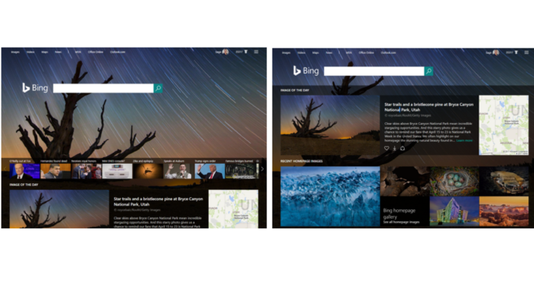 Bing to Explain the Meaning Behind Its Home Page Images