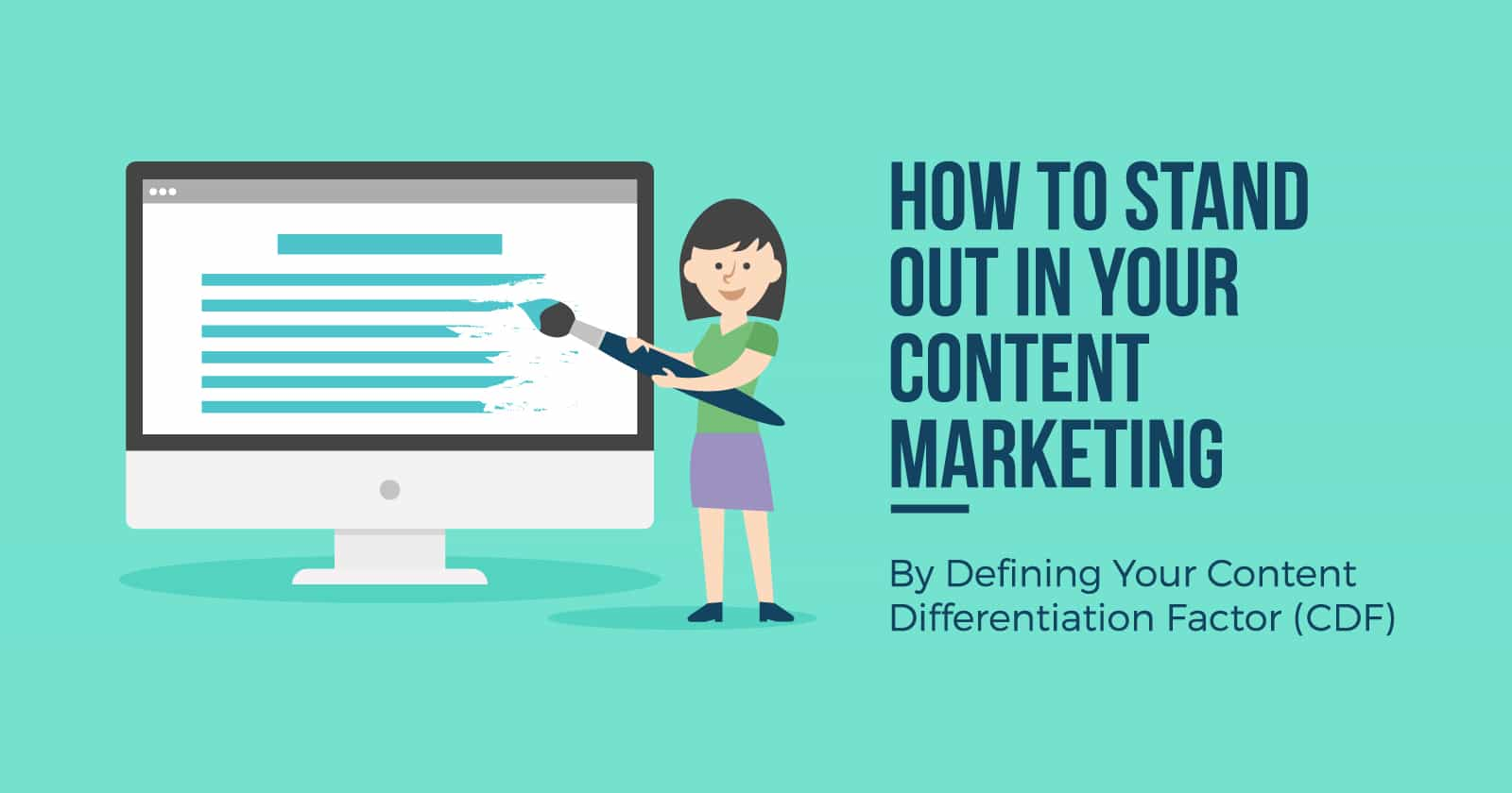 What's Your Content Differentiation Factor? by @JuliaEMcCoy