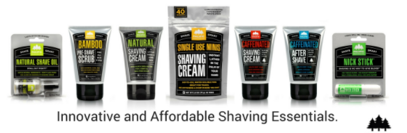 Shaving company headline: Innovative and Affordable Shaving Essentials